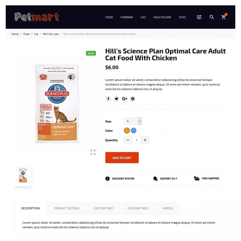 theme - Animali - Petmart - 6
