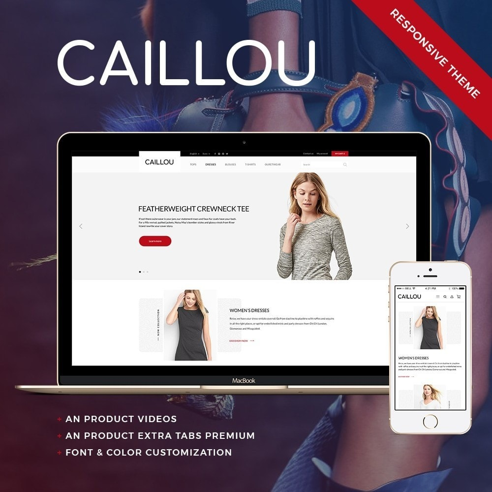Caillou Fashion Store