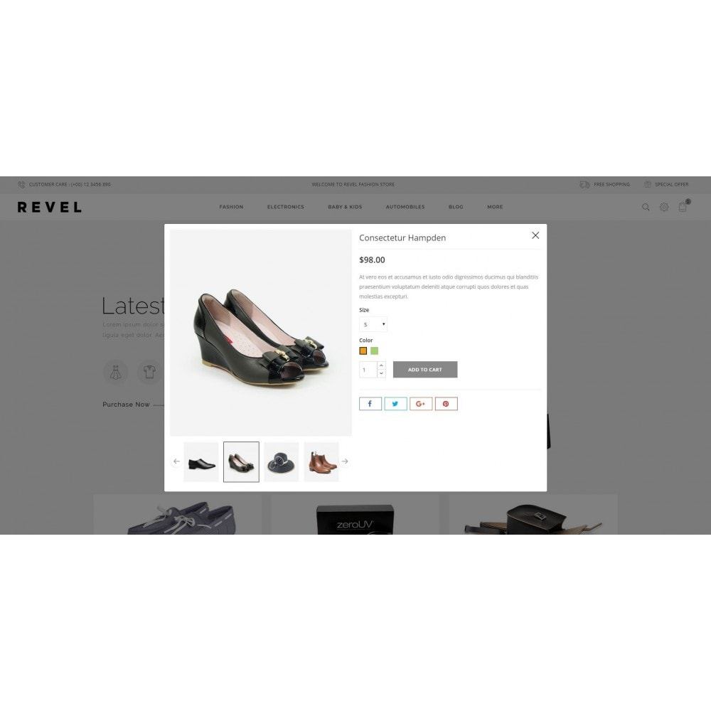 theme - Mode & Chaussures - Revel Fashion Store - 7