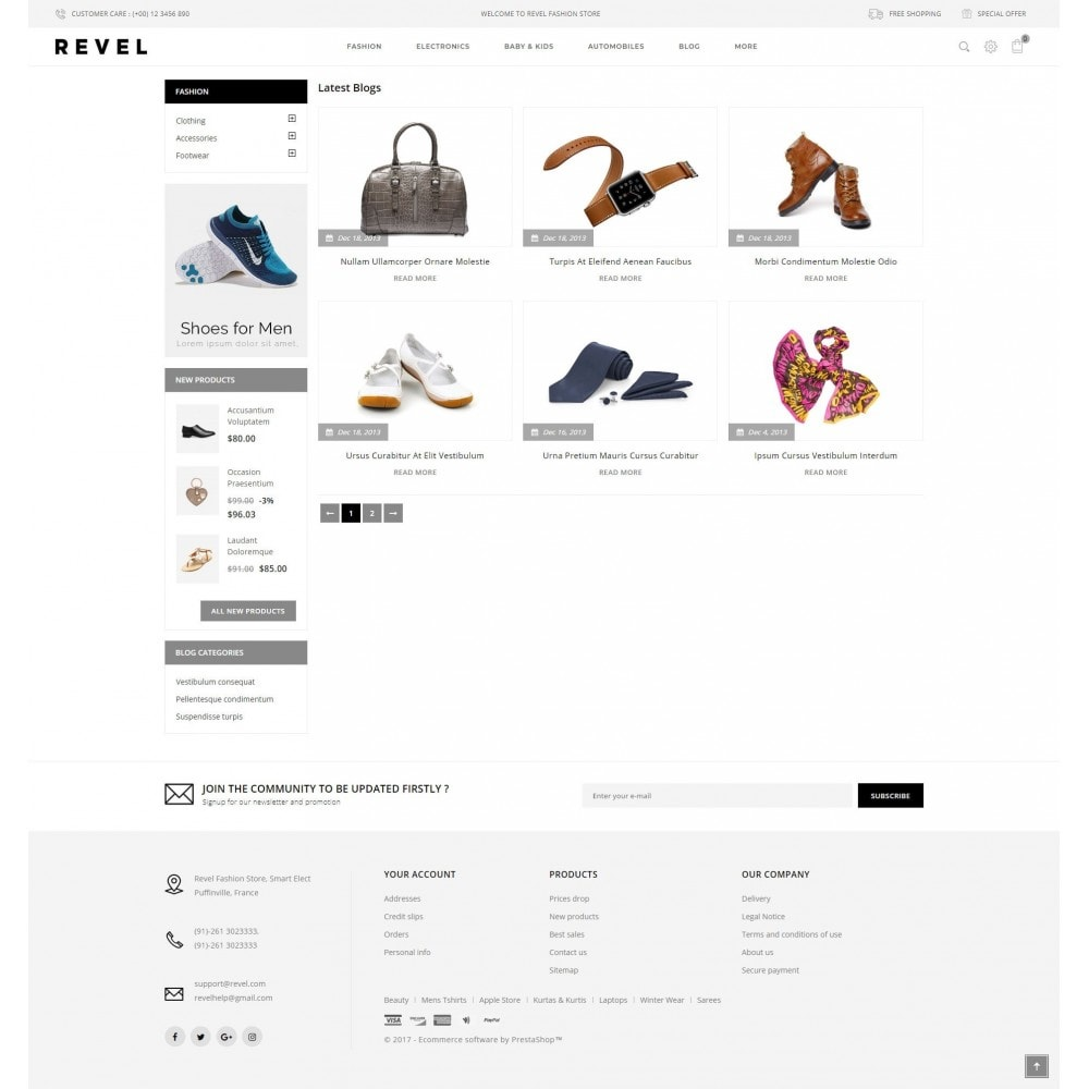 theme - Mode & Chaussures - Revel Fashion Store - 9