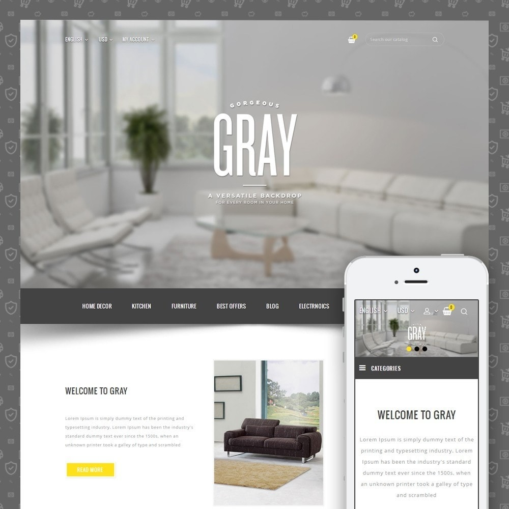theme - Heim & Garten - Gray Furniture Store - 1