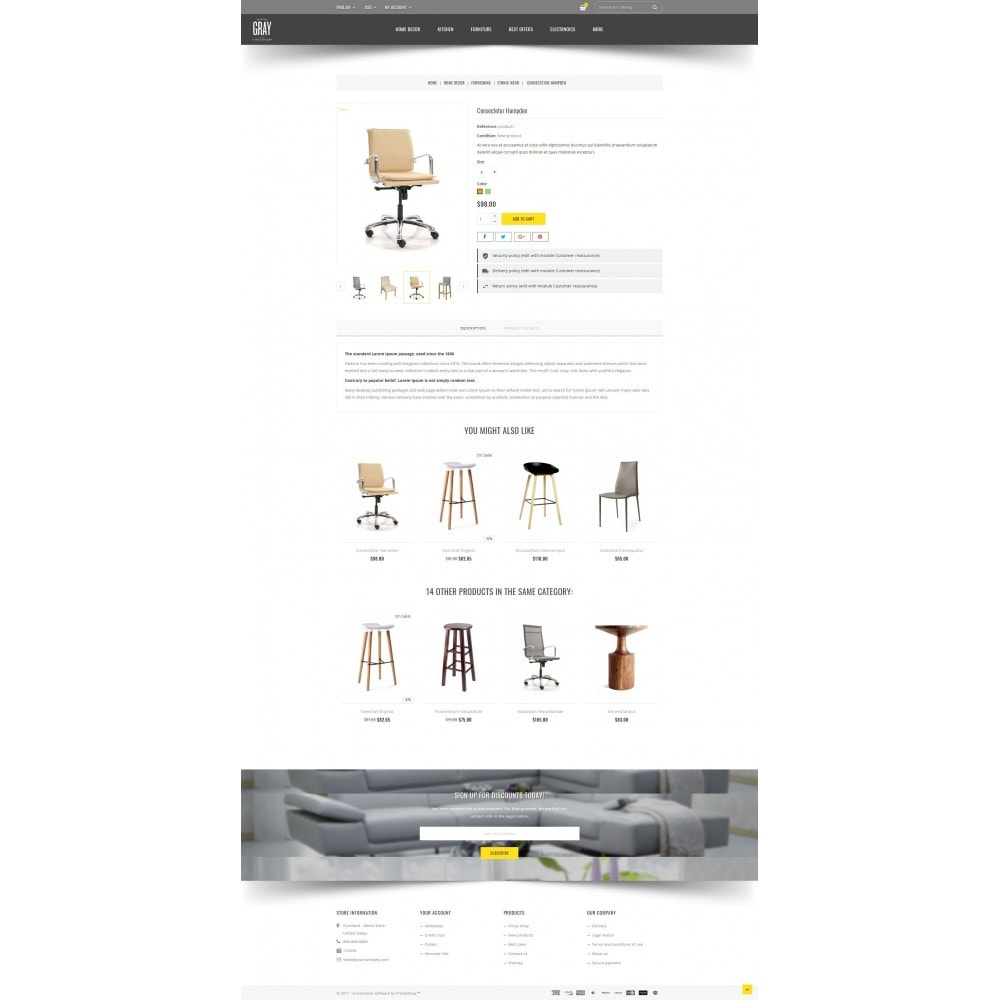 theme - Heim & Garten - Gray Furniture Store - 5