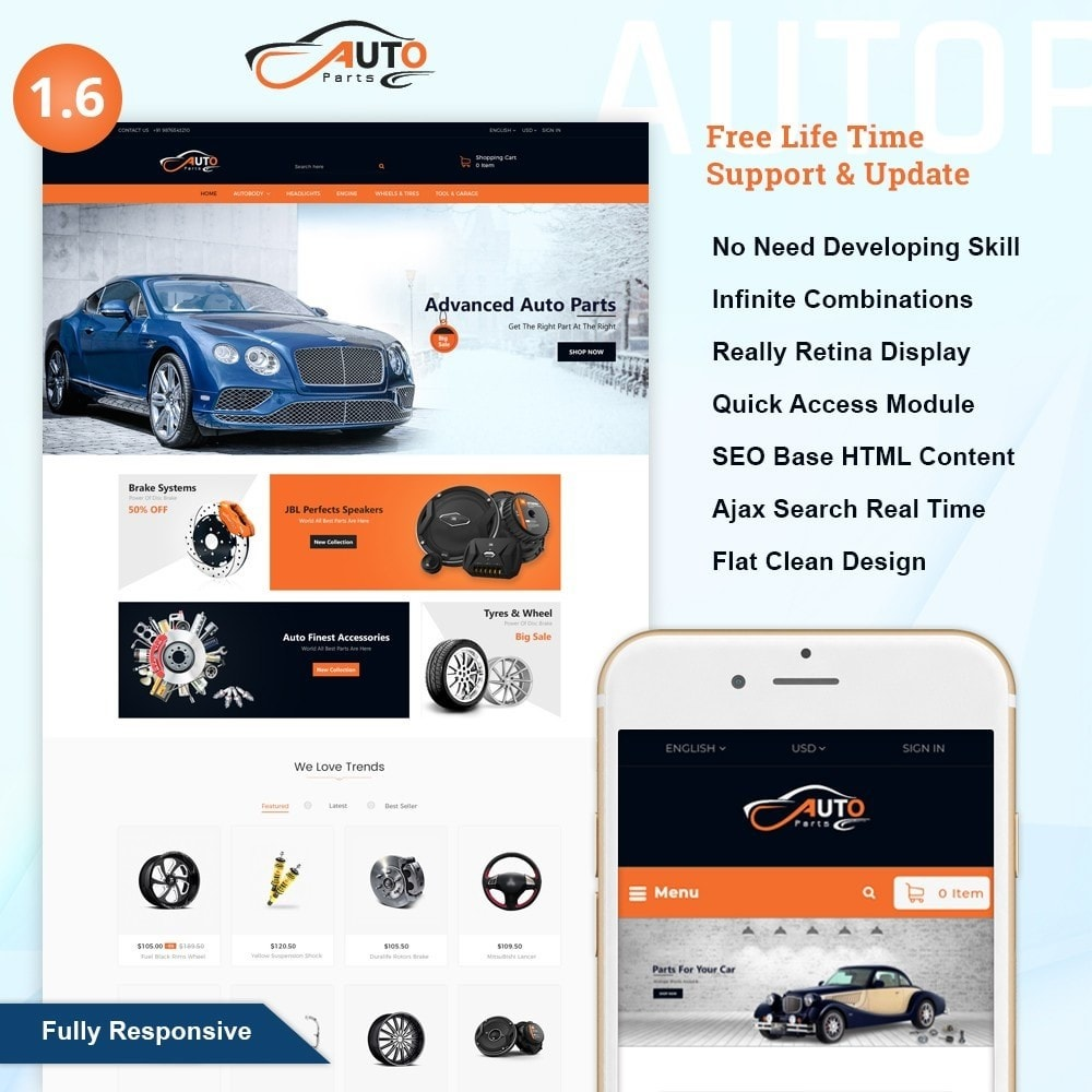 Auto Part - Automotive Shop