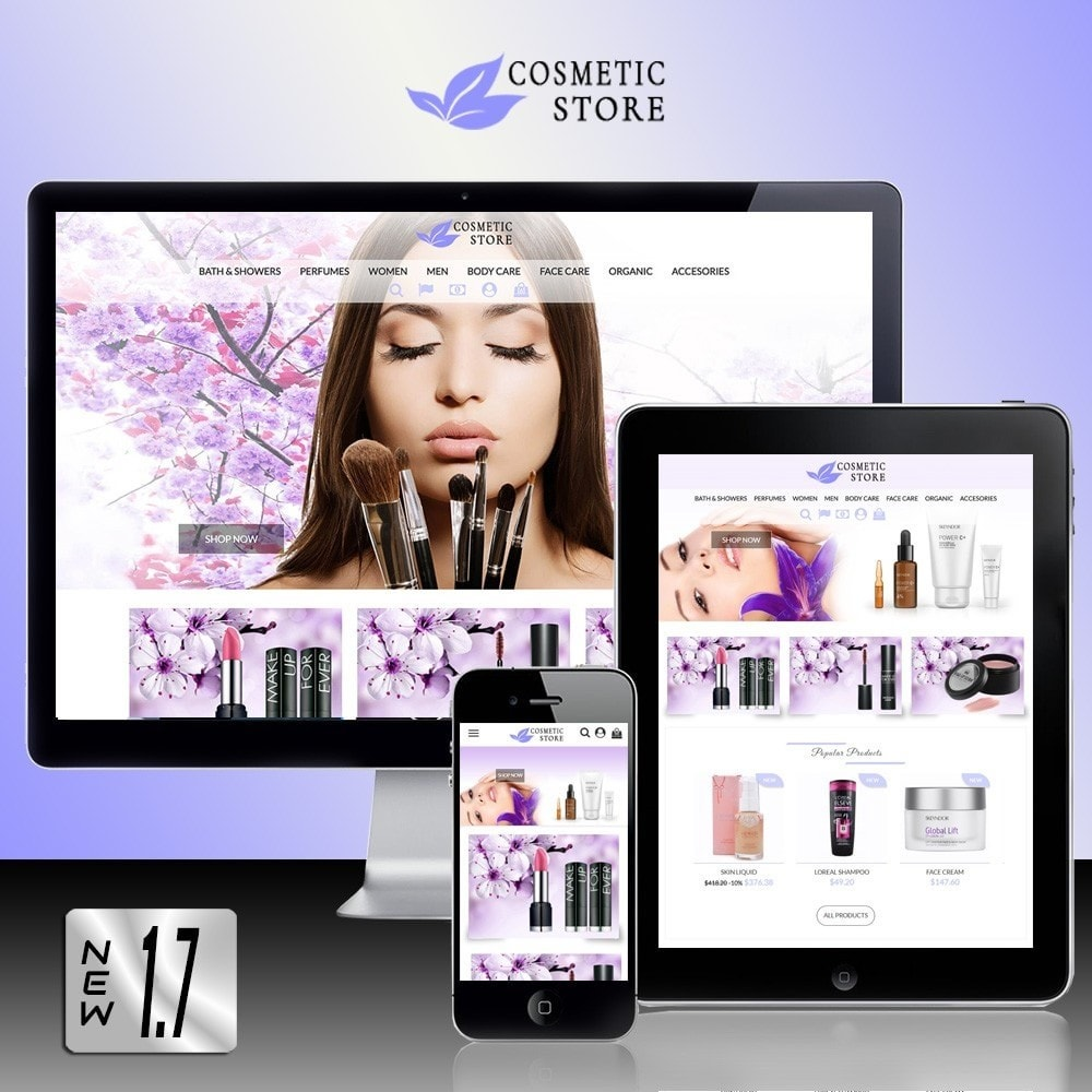 theme - Salute & Bellezza - Cosmetic Store - 1