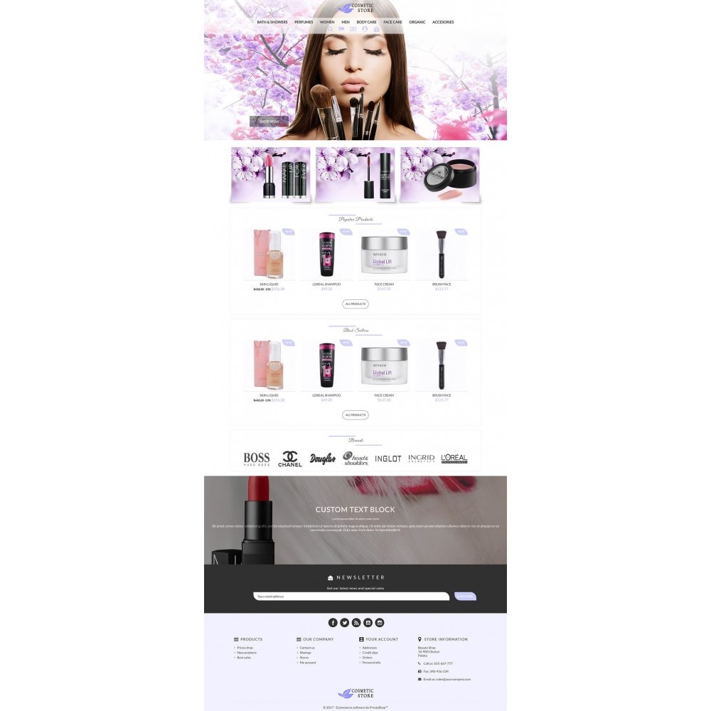 theme - Salute & Bellezza - Cosmetic Store - 2