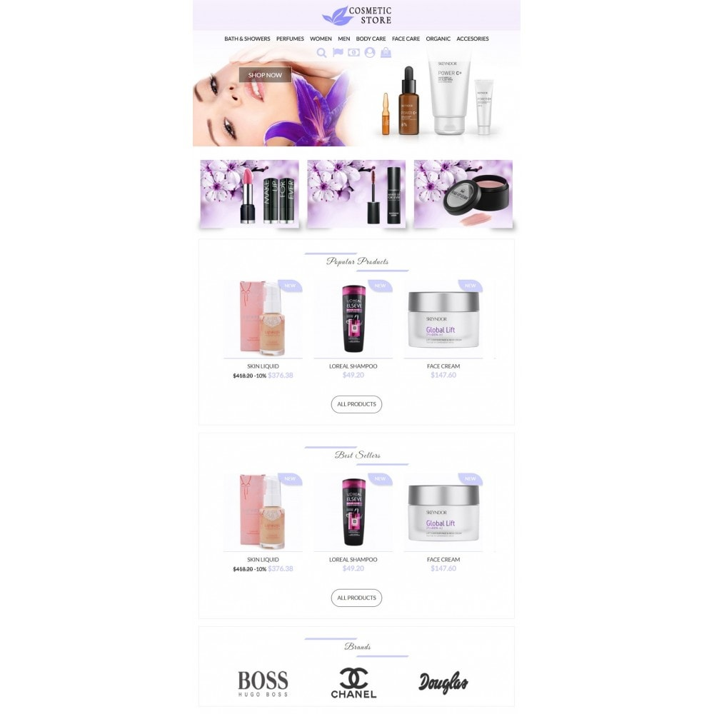 theme - Salute & Bellezza - Cosmetic Store - 4