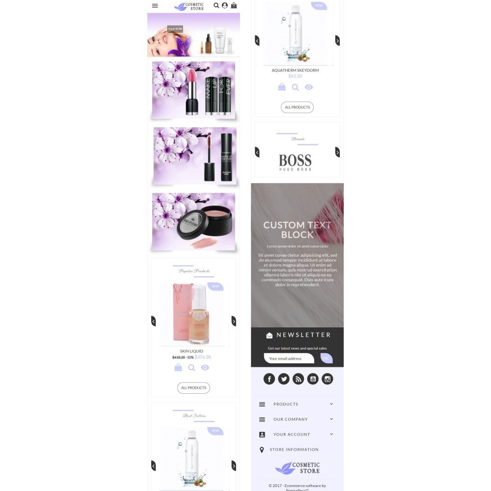 theme - Health & Beauty - Cosmetic Store - 5