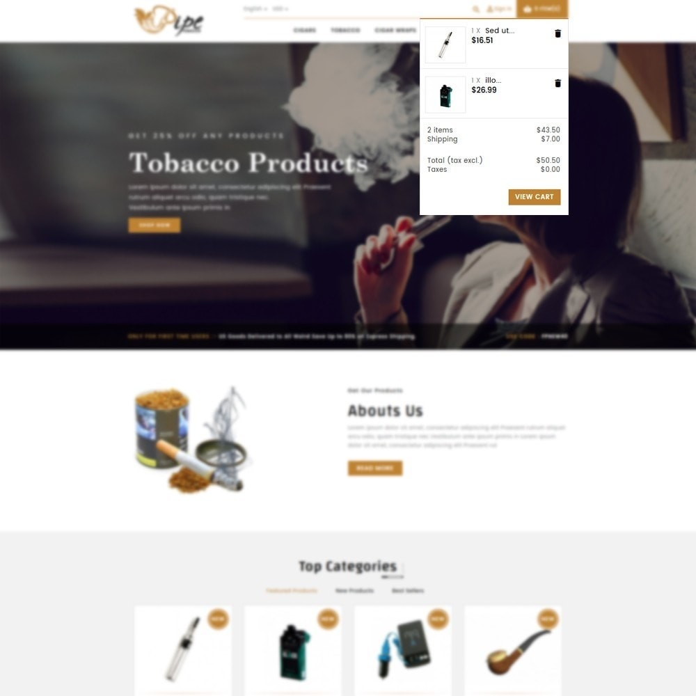 theme - Drink & Tobacco - Tobacco Store - 6