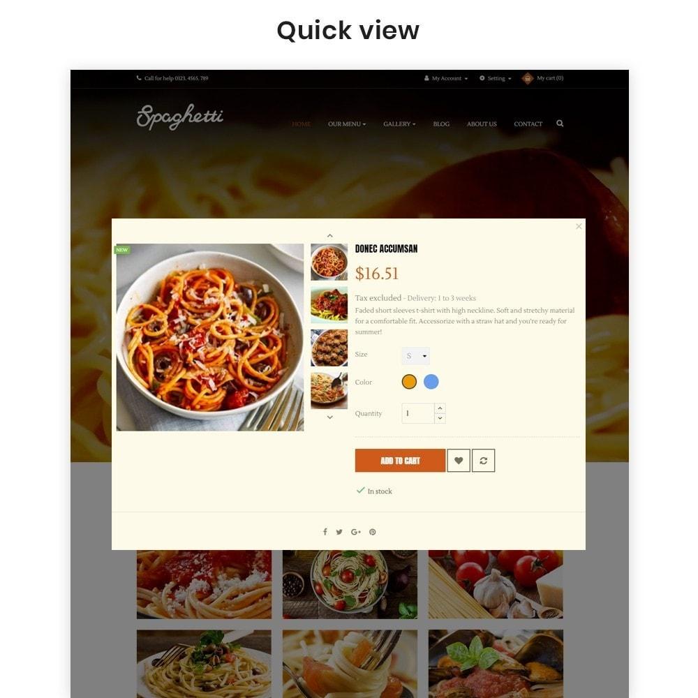 theme - Cibo & Ristorazione - Ap Spaghetti - 7