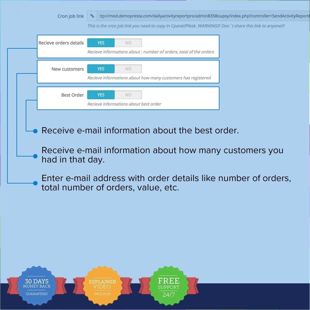 module - Analizy & Statystyki - Daily Activity Report - 4