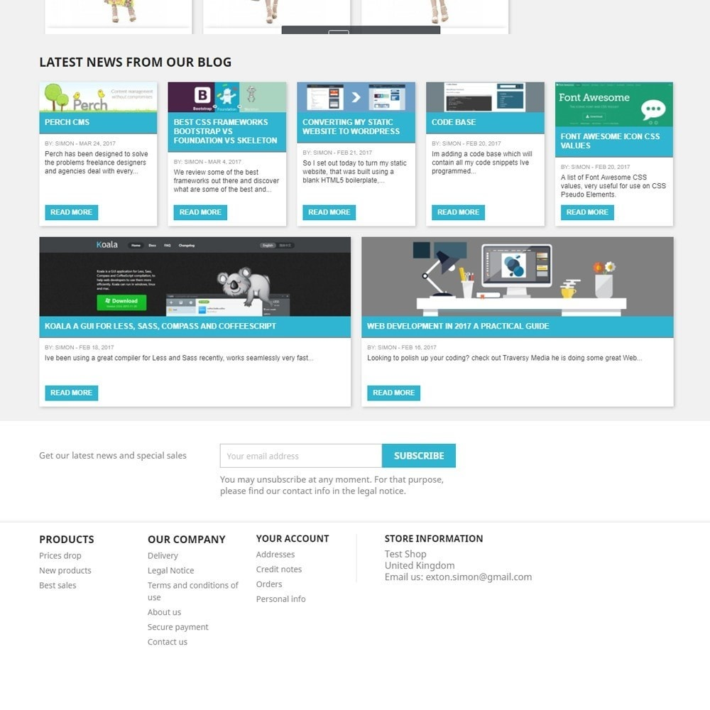 module - Blog, Forum & Nieuws - Display Recent Posts from your WordPress Blog - 4