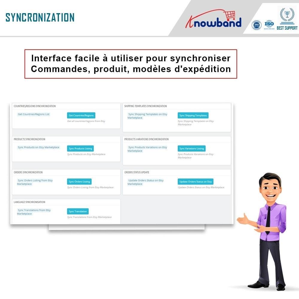 module - Marketplaces - Intégration de la Marketplace Etsy - 8