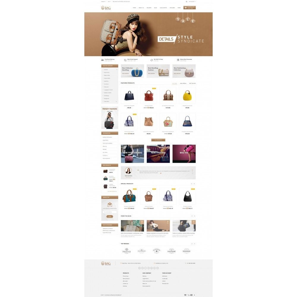 theme - Moda & Calzature - Bag Shop - 2