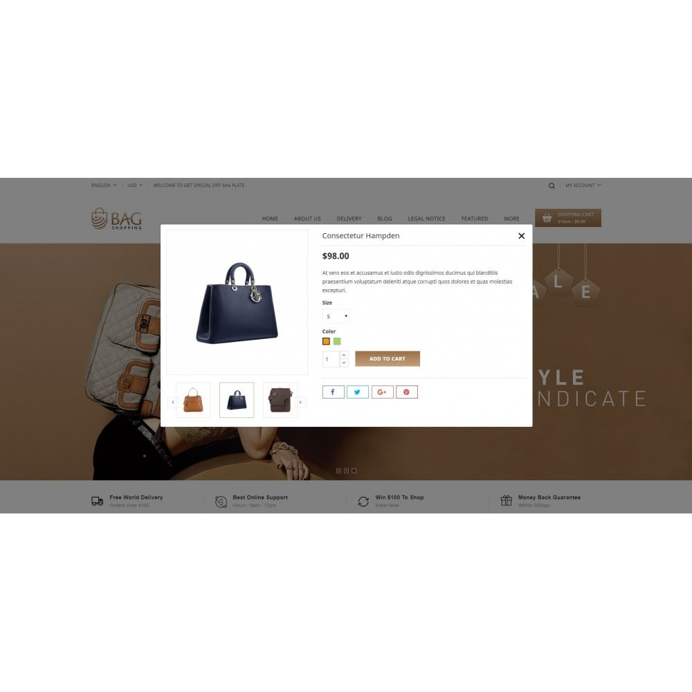 theme - Moda & Calzature - Bag Shop - 7