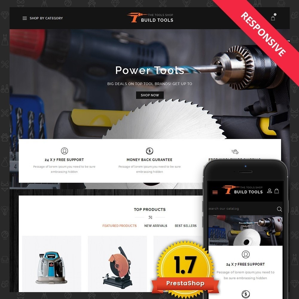 theme - Auto & Moto - Build Tools - Online Store - 1