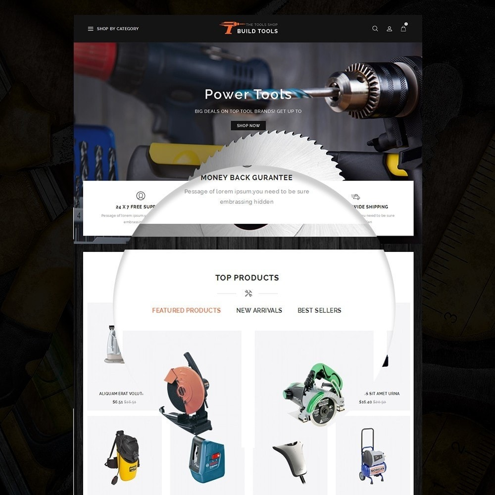theme - Carros & Motos - Build Tools - Online Store - 8