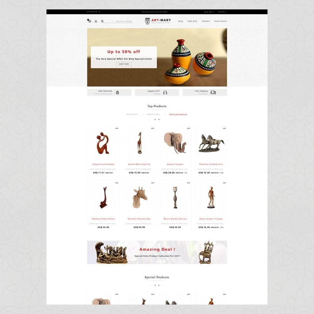 theme - Arte & Cultura - Art Mart - Online Store - 6