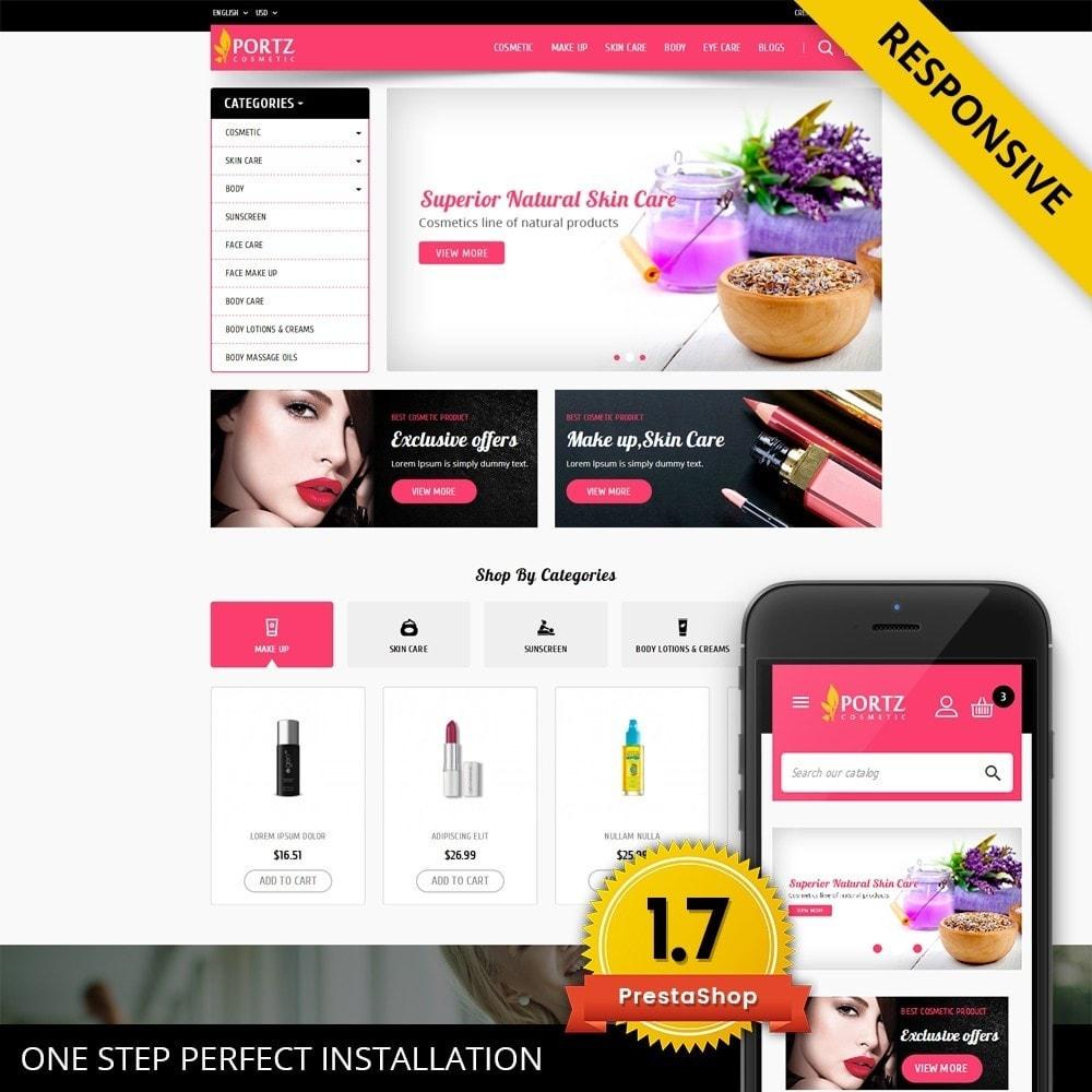 theme - Gesundheit & Schönheit - Portz - Cosmetic Store - 1