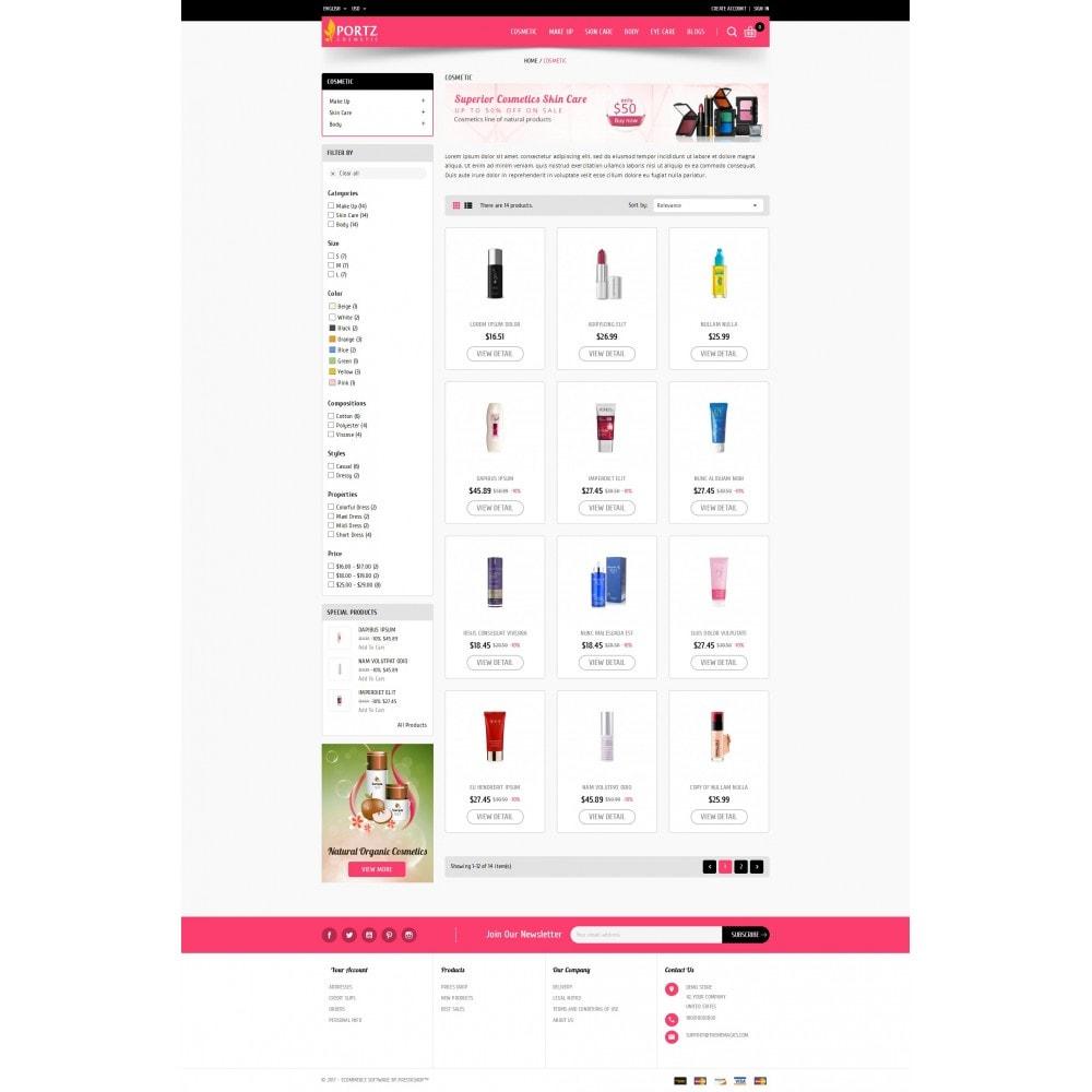 theme - Zdrowie & Uroda - Portz - Cosmetic Store - 3