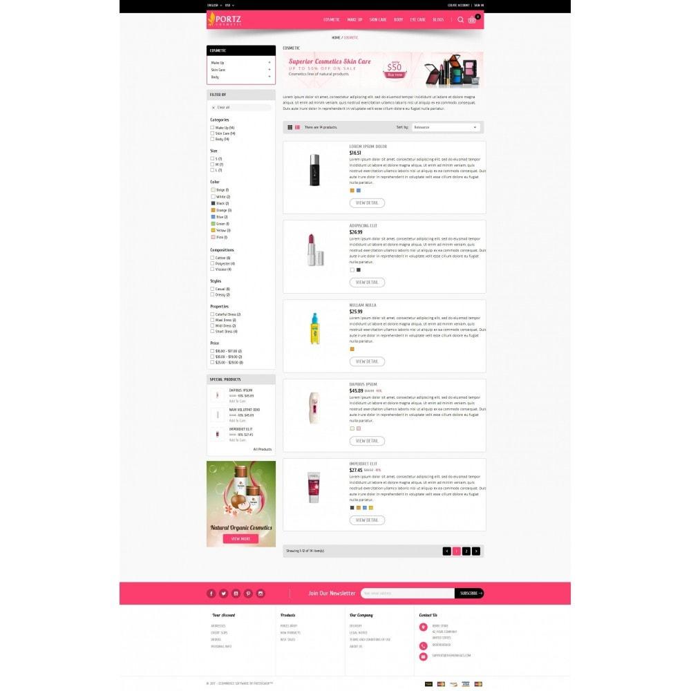 theme - Zdrowie & Uroda - Portz - Cosmetic Store - 4