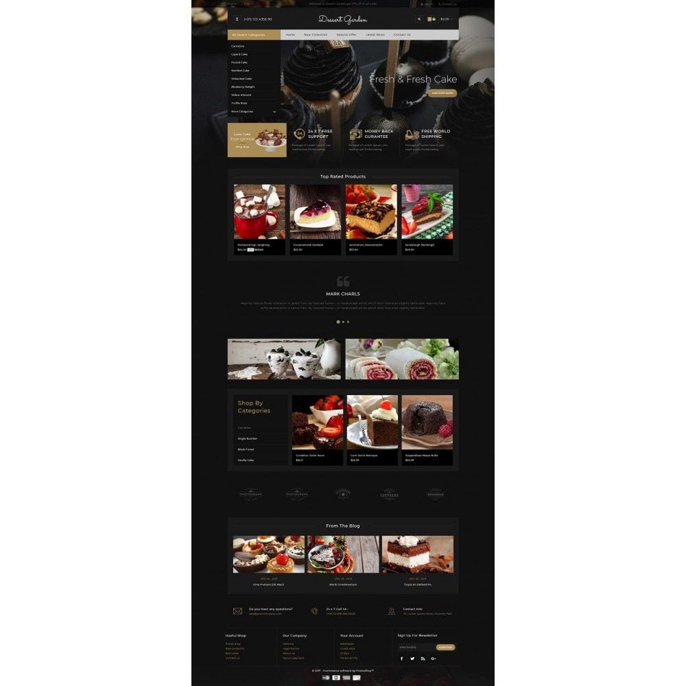 theme - Food & Restaurant - Dessert Garden - Bakery Store - 2