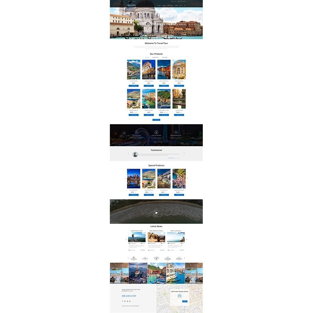 theme - Sports, Activities & Travel - Travel Shop - 2