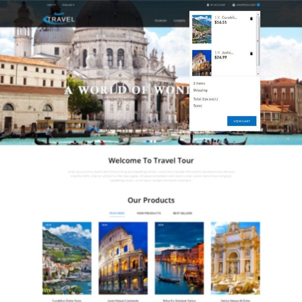 theme - Sports, Activities & Travel - Travel Shop - 7