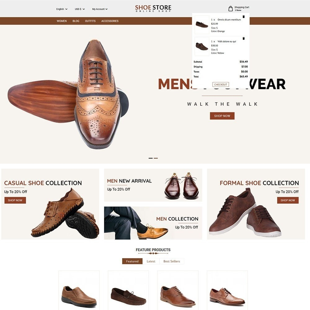 theme - Moda & Calzature - Shoe Store - 5