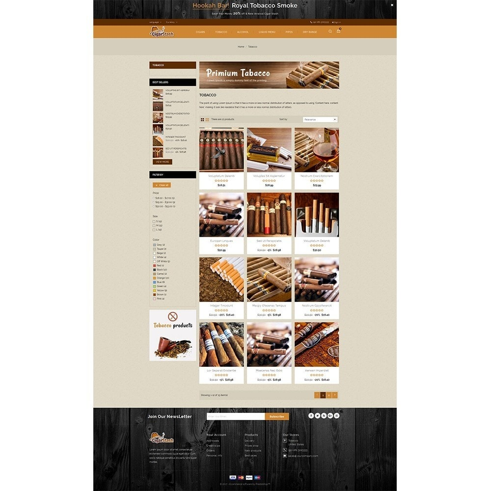 CigarStash Store