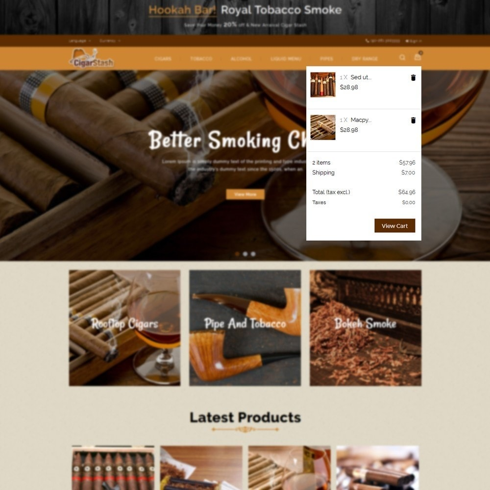 theme - Drink & Tobacco - CigarStash Store - 8