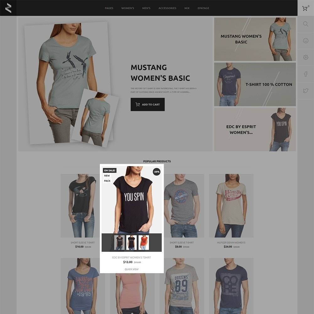 theme - Fashion & Shoes - T-Store - 3