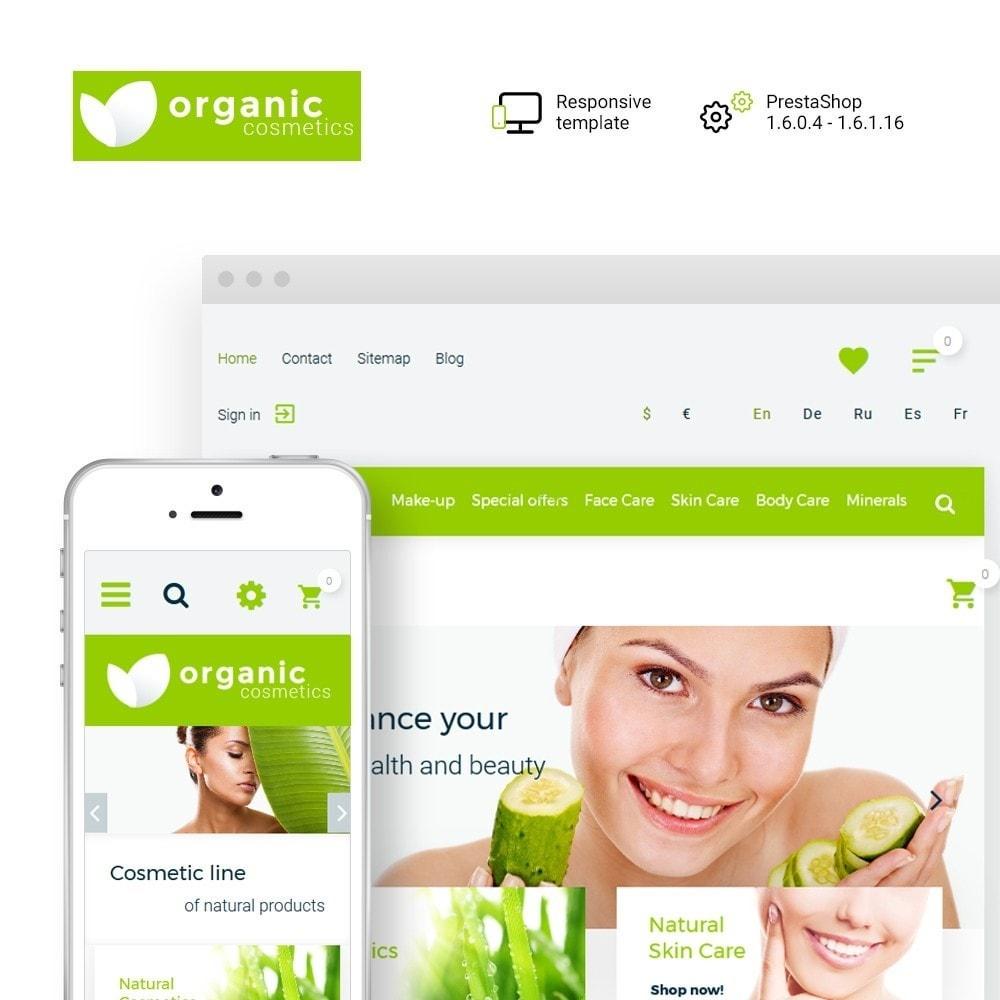 theme - Saúde & Beleza - Organic cosmetics - 1