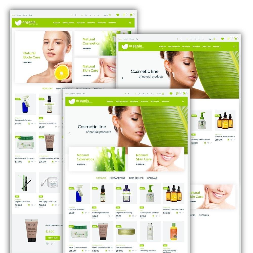 theme - Saúde & Beleza - Organic cosmetics - 2