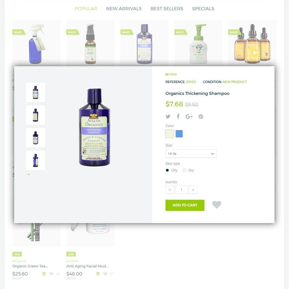 theme - Saúde & Beleza - Organic cosmetics - 5