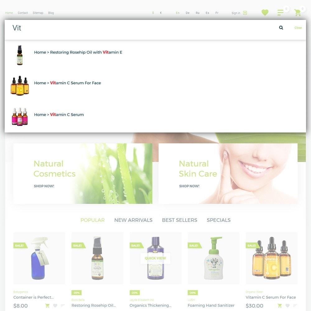 theme - Saúde & Beleza - Organic cosmetics - 6
