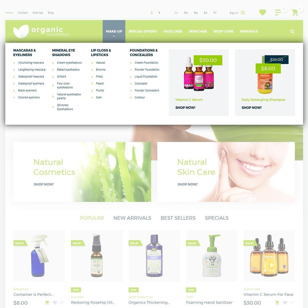 theme - Salud y Belleza - Organic cosmetics - 4