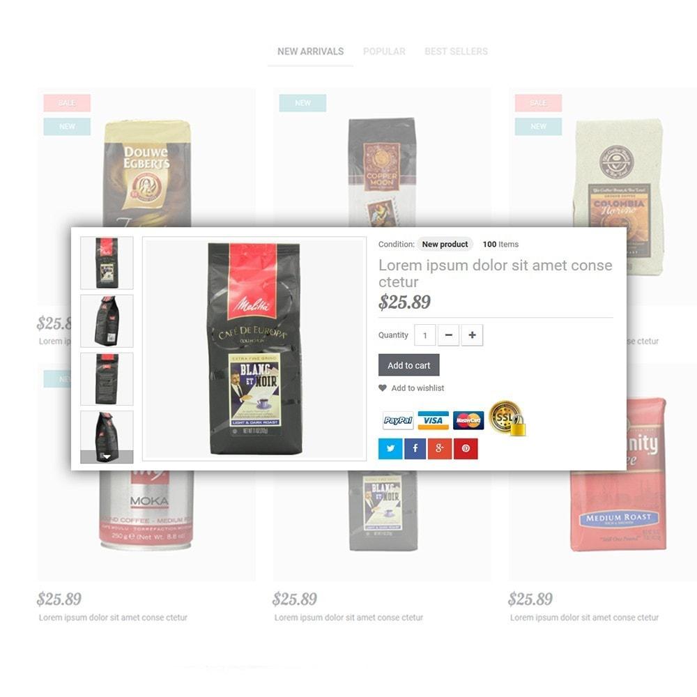 theme - Eten & Restaurant - Coffee - Coffee Shop Template - 5