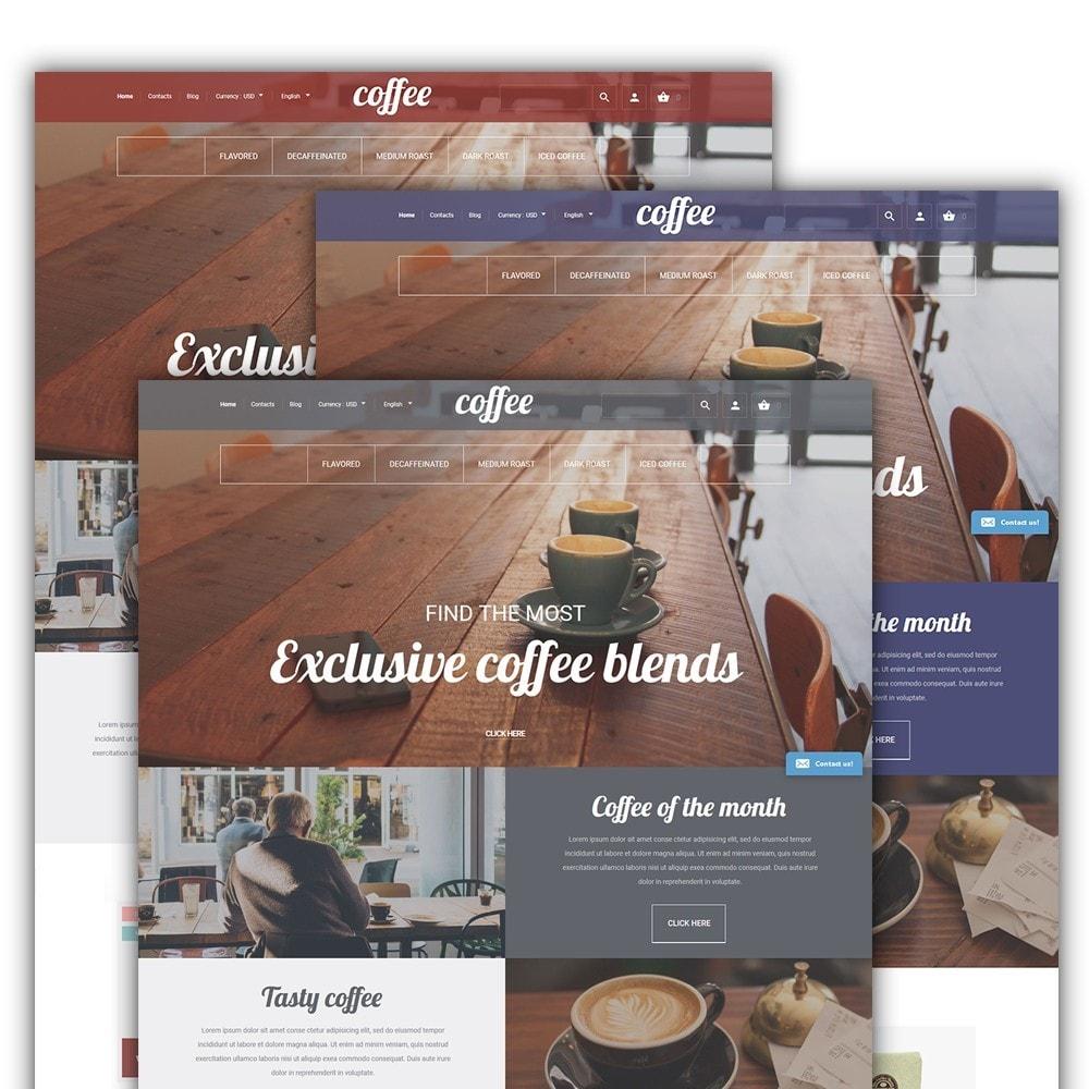 theme - Продовольствие и рестораны - Coffee - шаблон на тему магазин кофе - 2
