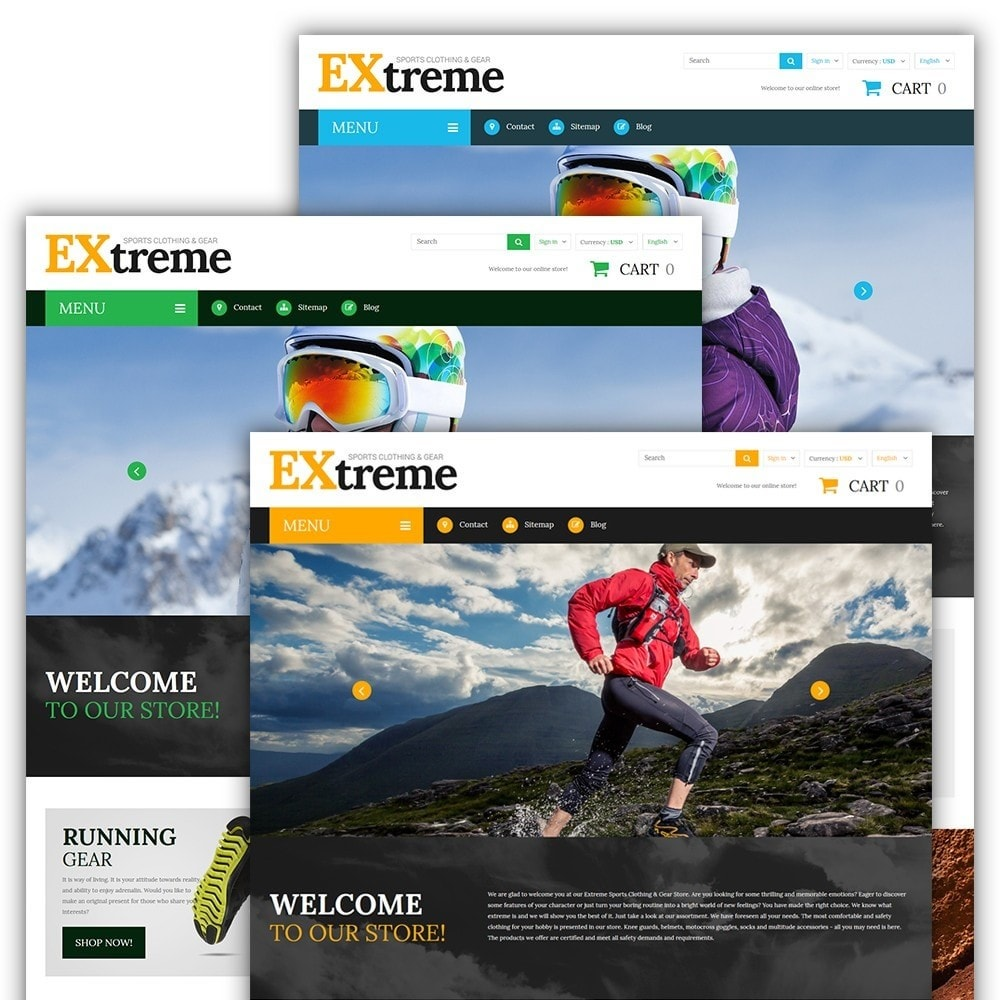 theme - Sports, Activities & Travel - Extreme Sports Clothing - 2