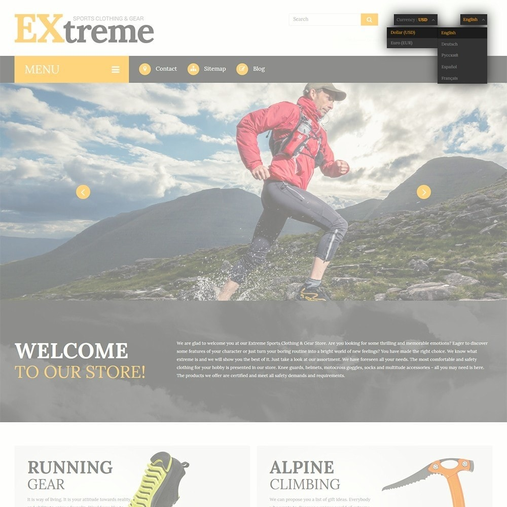theme - Sports, Activities & Travel - Extreme Sports Clothing - 6