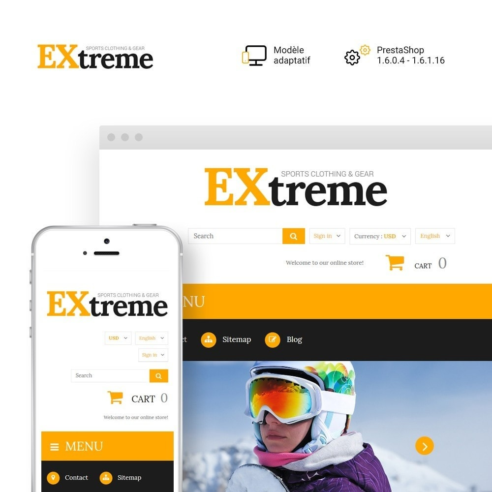 theme - Sport, Loisirs & Voyage - Extreme Sports Clothing - 1