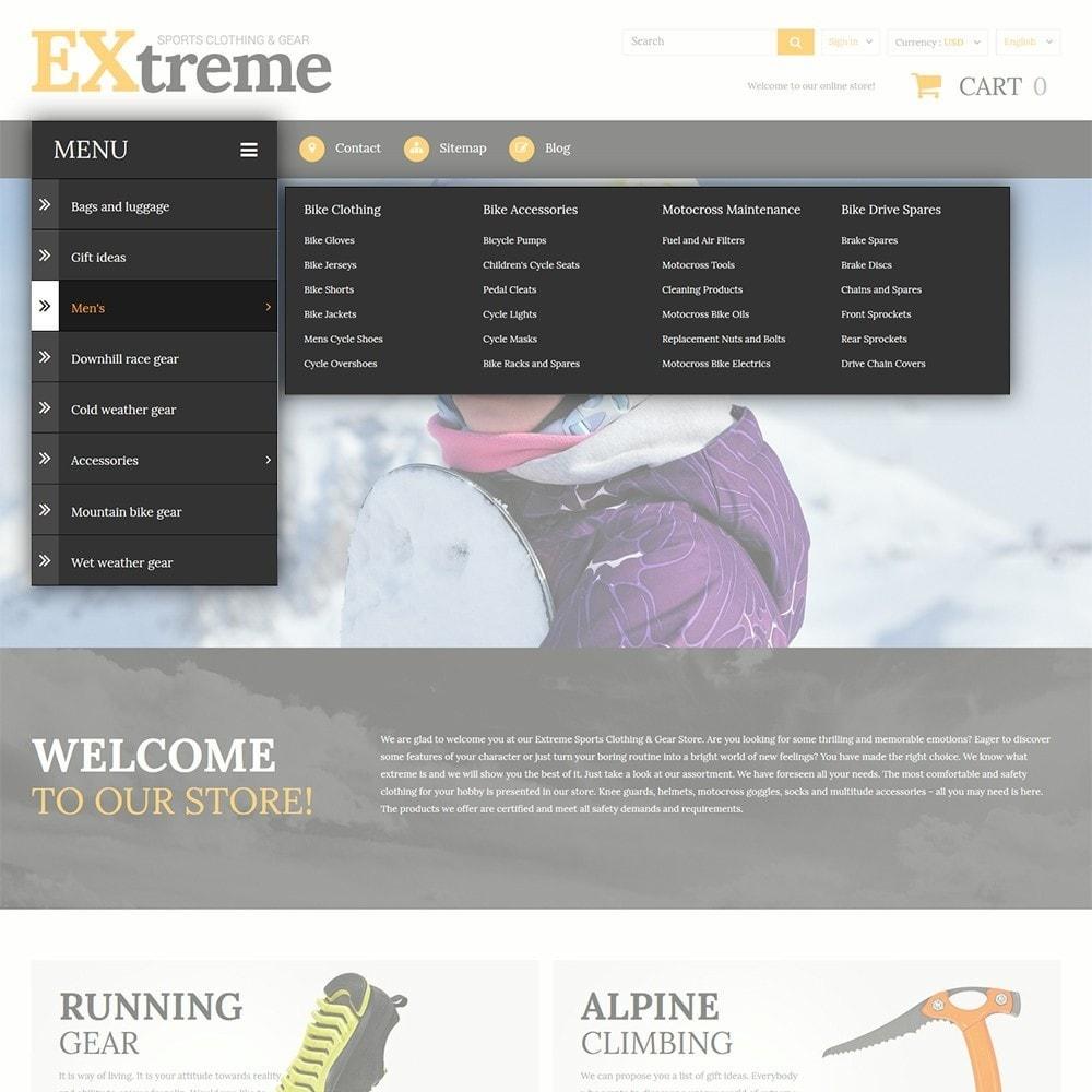 theme - Спорт и Путешествия - Extreme Sports Clothing - 4