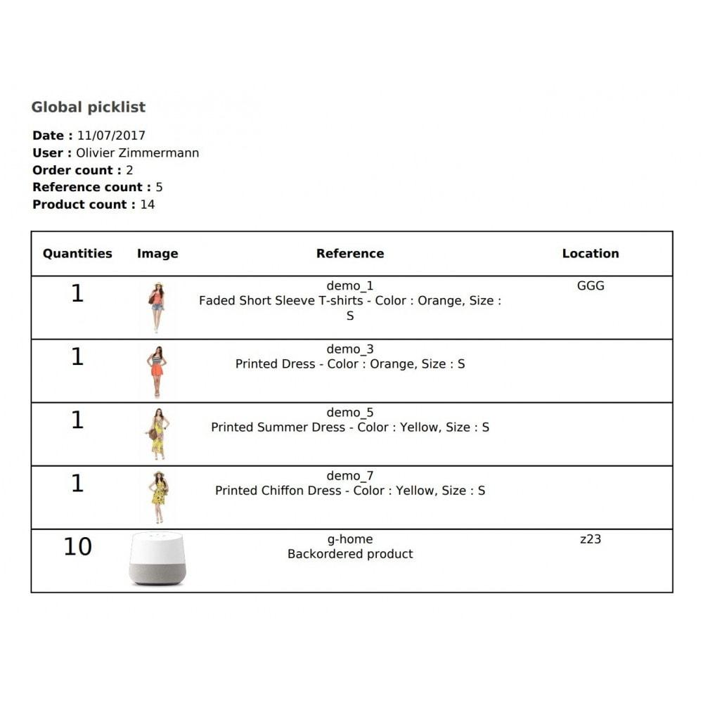 module - Gestión de Pedidos - Boostmyshop ERP - Order Preparation - 3