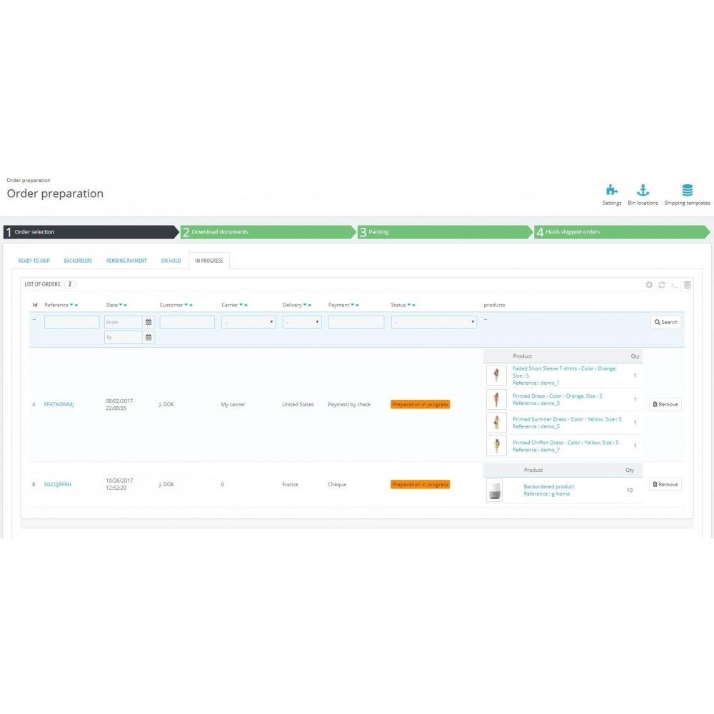 module - Gestión de Pedidos - Boostmyshop ERP - Order Preparation - 4