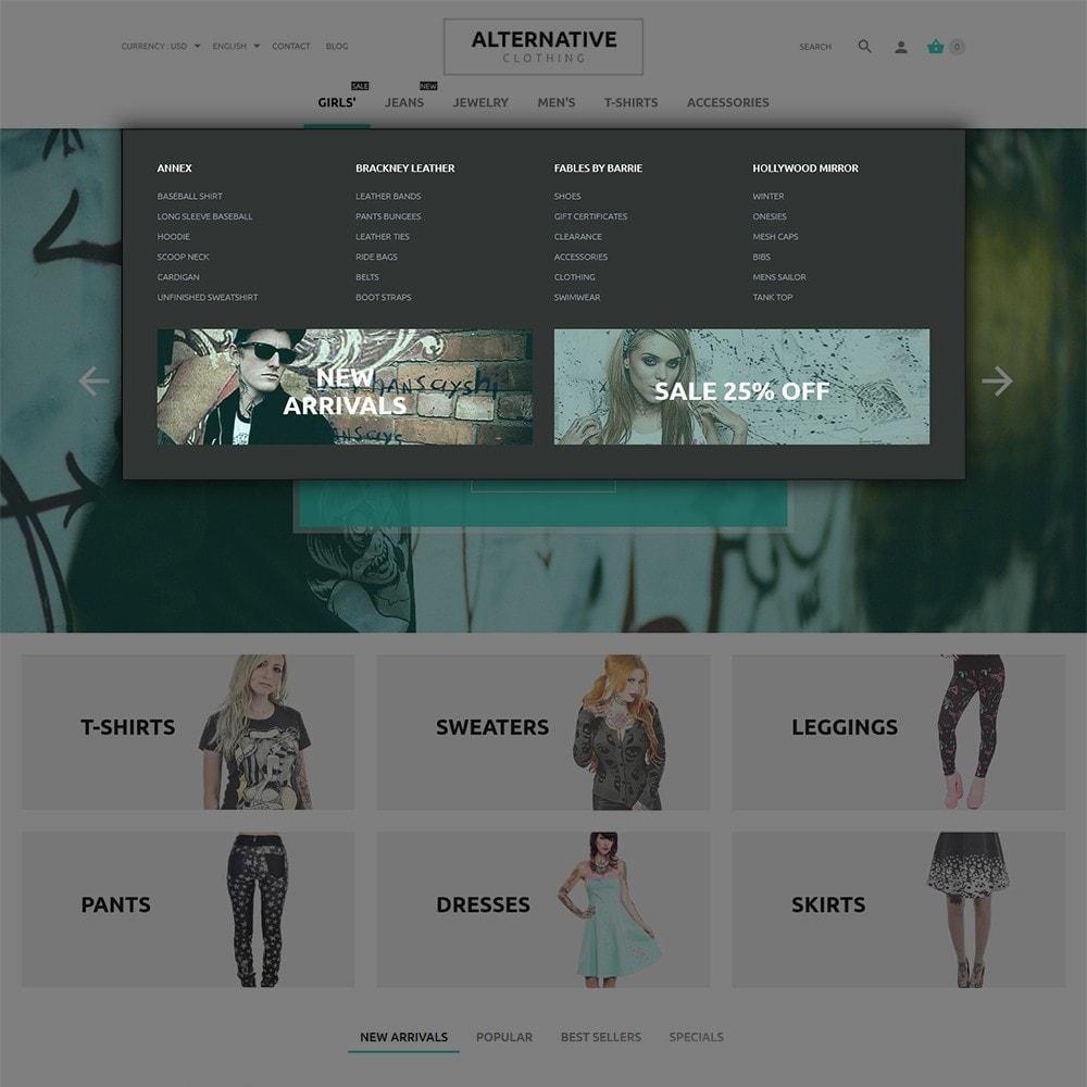 theme - Mode & Chaussures - Alternative Closing - 6