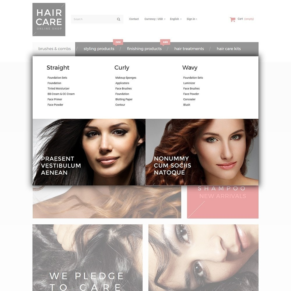 theme - Health & Beauty - Hair Care - Hair Salon Template - 4