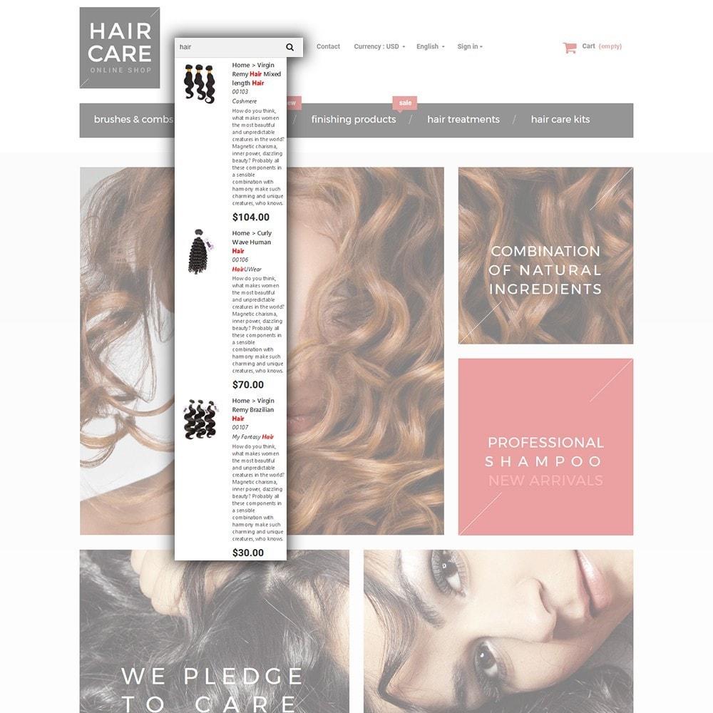 theme - Santé & Beauté - Hair Care - Brillance de cheveux thème - 6