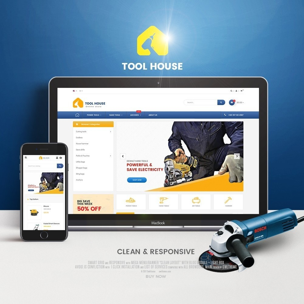 theme - Electronique & High Tech - Tool House - 1