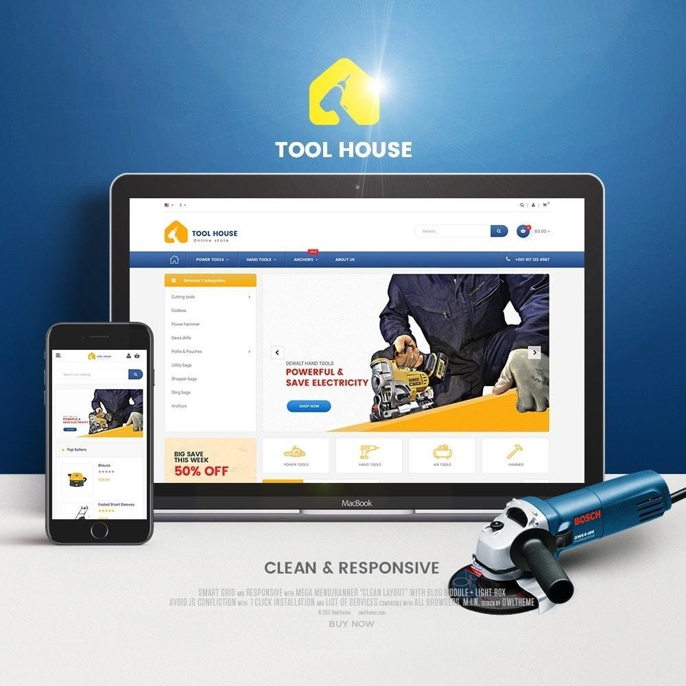 theme - Электроника и компьютеры - Tool House - 1