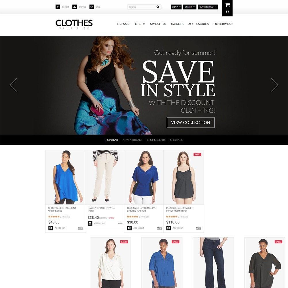 Clothes Plus Size - para Sitio de Ropa